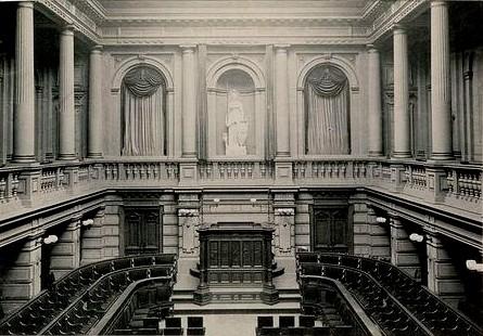 Aula Universiteit Amsterdam, geboorteplaats van de GAV