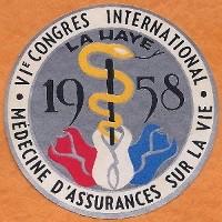 Congresembleem ICLAM 1958 Scheveningen