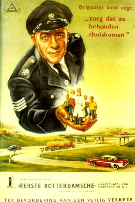 Affiche Eerste Rotterdamsche